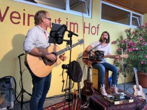 Weinfest im Hof Weingut Zimmerle | Birds DUO @ Weingut Zimmerle